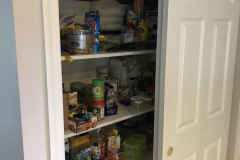 Blue Bell Custom Pantry - Pantry Before 1