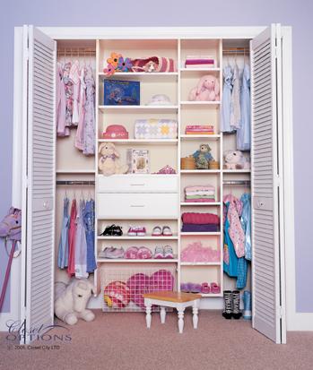Merveilleux Sample Childrenu0027s Closets
