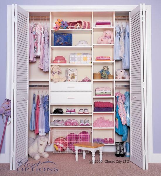 Childrenu0027s Custom Closet   Full
