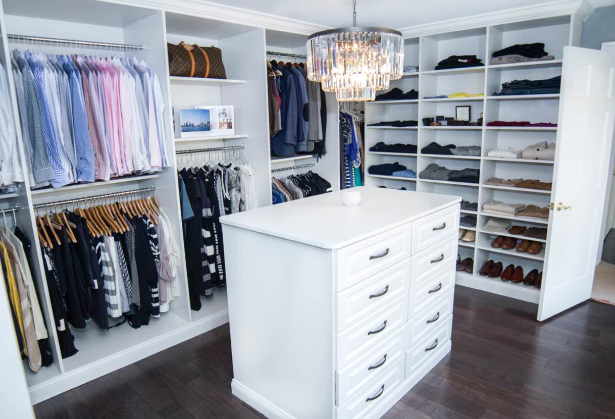Master Bedroom Walk in Closet. Custom Bedroom Closet   My Custom Closet