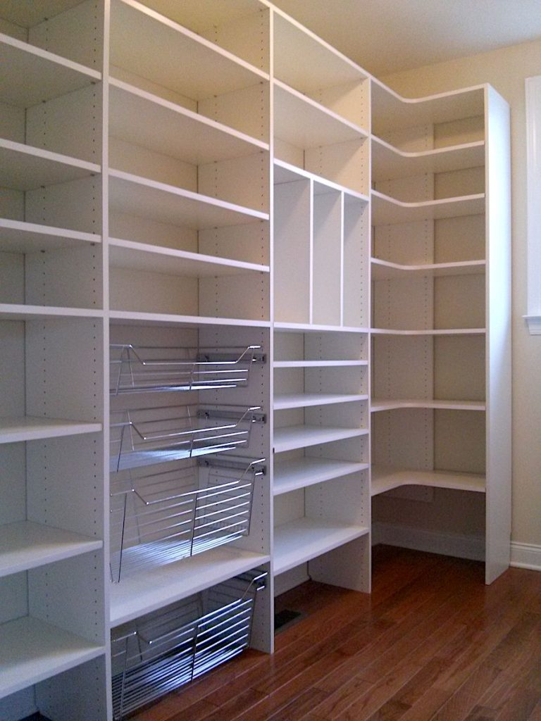 Custom Closet Trends - custom pantry