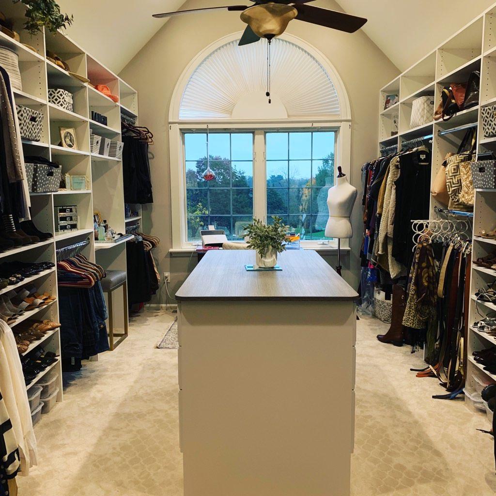 multi-purpose closet